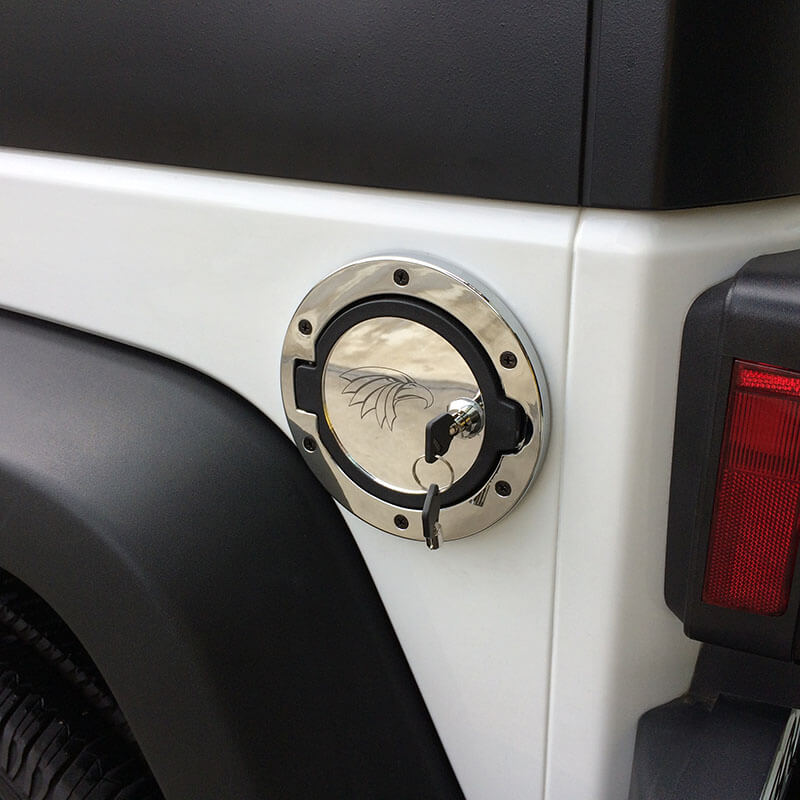 Locking Fuel Filler Door